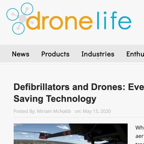 Defibrillators and Drones