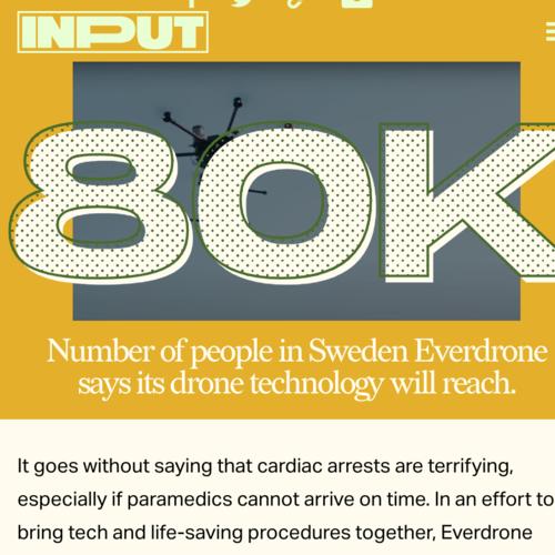 Emergency drone dispatch program will bring defibrillators to thousands in Sweden