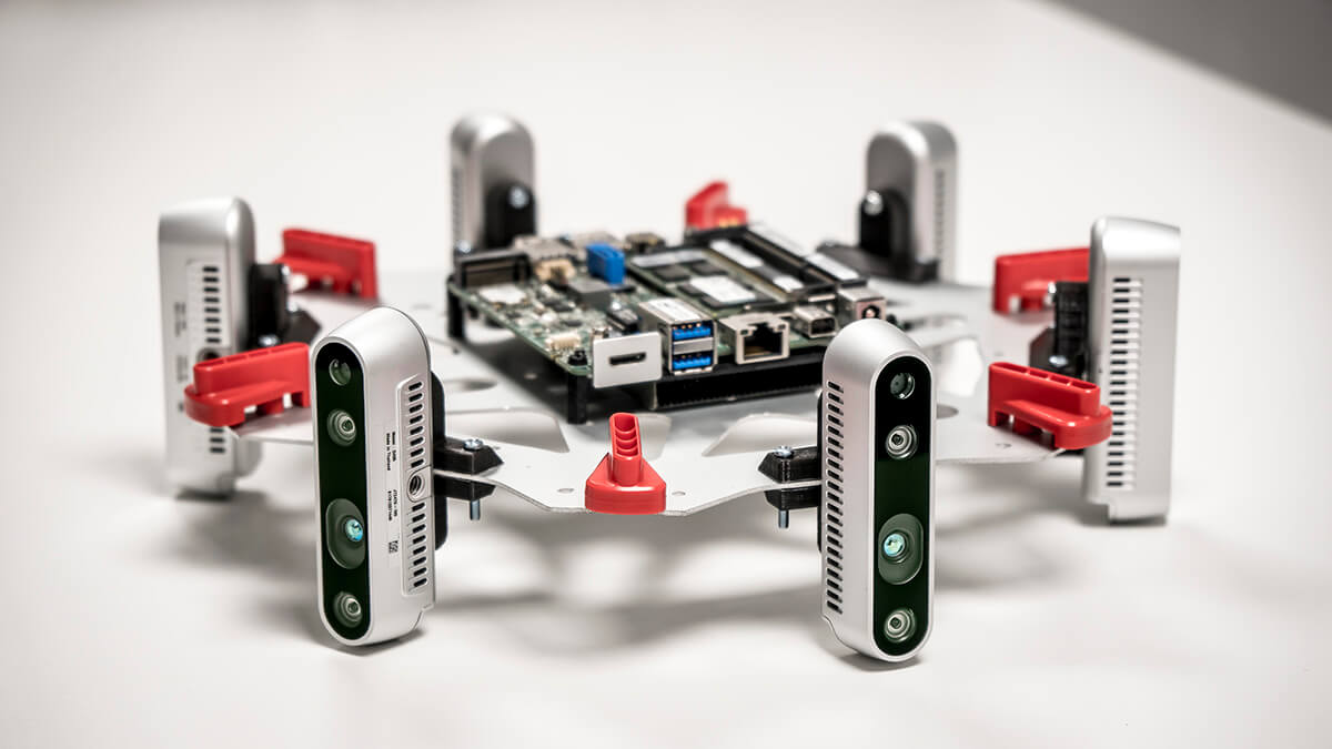 Everdrone Sensor rig